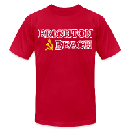 T-Shirts ~ Men's T-Shirt by American Apparel ~ Brighton Beach Old Russia