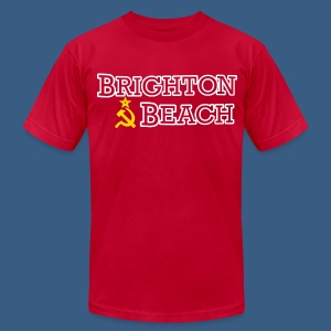 Brighton Beach Old Russia - Men's T-Shirt by American Apparel