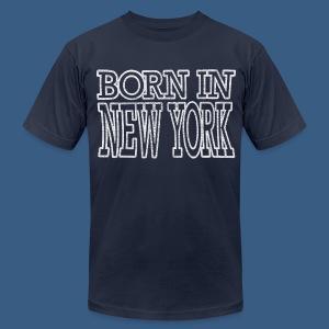 Born in New York - Men's Fine Jersey T-Shirt