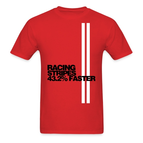 Racing Stripes - Men's T-Shirt