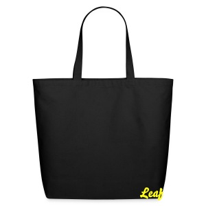 GREEN Leaf Tote - Eco-Friendly Cotton Tote