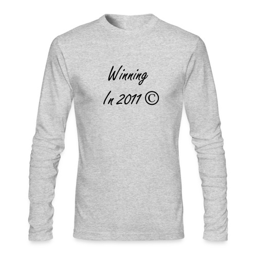 Winning in 2011 © - Men's Long Sleeve T-Shirt by Next Level