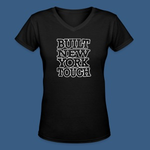 Built New York Tough - Women's V-Neck T-Shirt