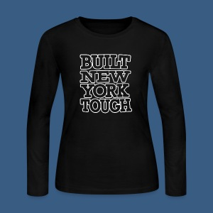Built New York Tough - Women's Long Sleeve Jersey T-Shirt