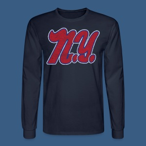 NY Football Style - Men's Long Sleeve T-Shirt