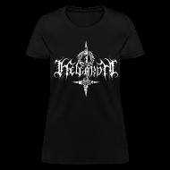 T-Shirts ~ Women's T-Shirt ~ Helgardh Crucifix Logo Women's T 666