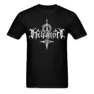 T-Shirts ~ Men's T-Shirt ~ Helgardh Crucifix Logo Men's T 666