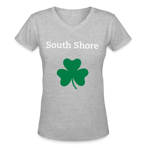 Women's South Shore V-Neck - Women's V-Neck T-Shirt
