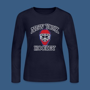 New York Hockey - Women's Long Sleeve Jersey T-Shirt
