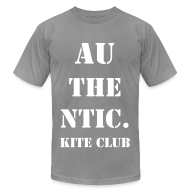 T-Shirts ~ Men's T-Shirt by American Apparel ~ au·then·tic Tee 2