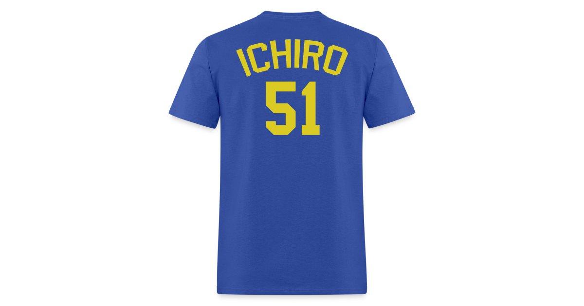 the latest 59846 a47fd Revolution Diaz | Blue Wave #51 Ichiro Suzuki - Mens T-Shirt