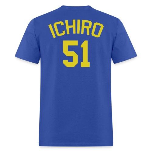 Blue Wave #51 Ichiro Suzuki - Men's T-Shirt
