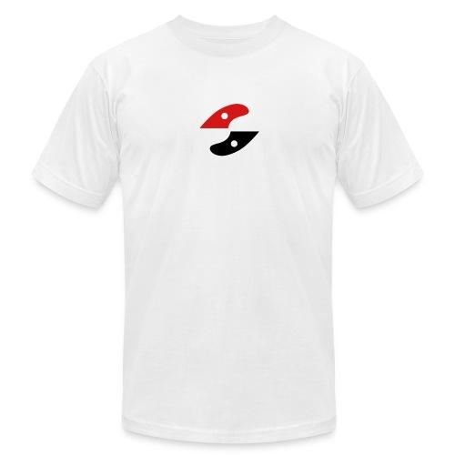 GS shirt- logo centered - Men's Fine Jersey T-Shirt
