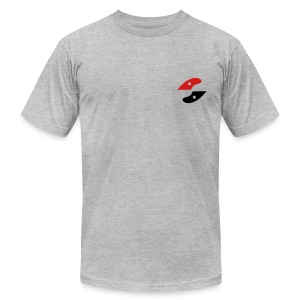GS shirt- logo on side - Men's T-Shirt by American Apparel