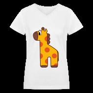 Women's T-Shirts ~ Women's V-Neck T-Shirt ~ [SHINee] Oh My School