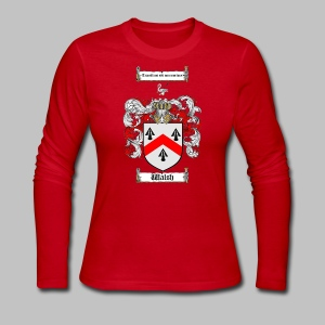 McDonnel Coat of Arms - Women's Long Sleeve Jersey T-Shirt