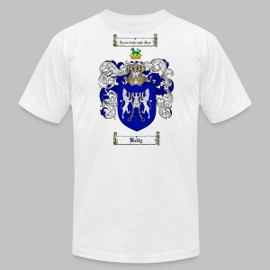 Kelly Coat of Arms 3 - Men's T-Shirt by American Apparel