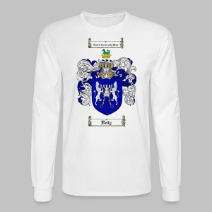 Kelly Coat of Arms 3 - Men's Long Sleeve T-Shirt