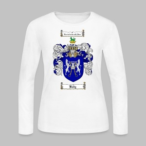 Kelly Coat of Arms 3 - Women's Long Sleeve Jersey T-Shirt