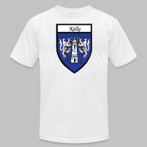 Kelly Coat of Arms 2 - Men's T-Shirt by American Apparel