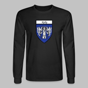 Kelly Coat of Arms 2 - Men's Long Sleeve T-Shirt