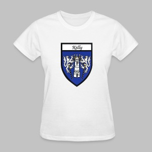 Kelly Coat of Arms 2 - Women's T-Shirt