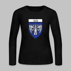 Kelly Coat of Arms 2 - Women's Long Sleeve Jersey T-Shirt