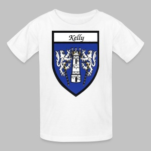 Kelly Coat of Arms 2 - Kids' T-Shirt