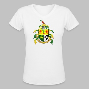 Sullivan Coat of Arms - Women's V-Neck T-Shirt