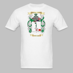 Hayes Coat of Arms  - Men's T-Shirt