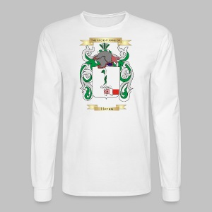 Hayes Coat of Arms  - Men's Long Sleeve T-Shirt