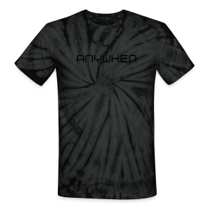 Anywhen - Unisex Tie Dye T-Shirt
