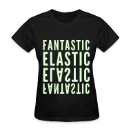 Women's T-Shirts ~ Women's T-Shirt ~ [SHINee] Fantastic Elastic (Glow in the Dark)