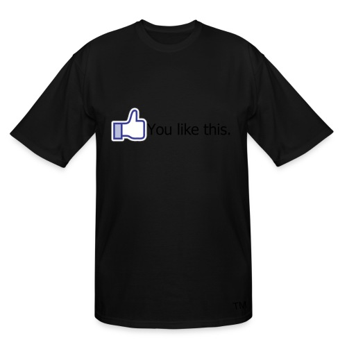 guys fffacebook tall-tee - Men's Tall T-Shirt