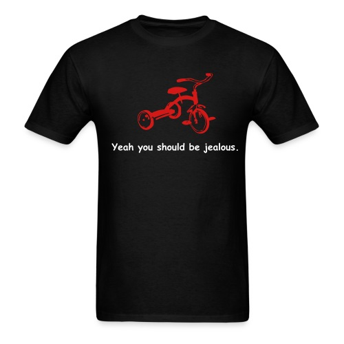 Mens/Jealous (black) - Men's T-Shirt