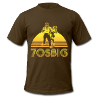 T-Shirts ~ Men's T-Shirt by American Apparel ~ Throwback T-Shirt - AA