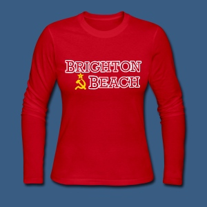Brighton Beach Old Russia - Women's Long Sleeve Jersey T-Shirt