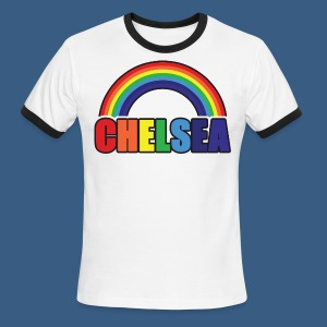 Chelsea Rainbow - Men's Ringer T-Shirt
