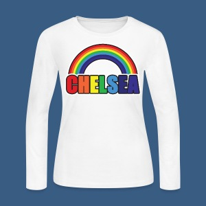 Chelsea Rainbow - Women's Long Sleeve Jersey T-Shirt