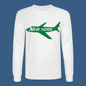 NY Jet - Men's Long Sleeve T-Shirt