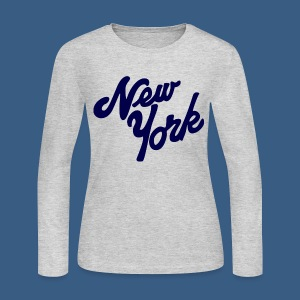 Loopy New York - Women's Long Sleeve Jersey T-Shirt