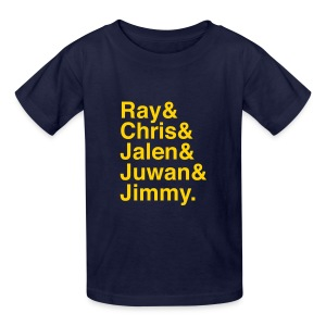 Michigan Fab Five - Youth - Kids' T-Shirt