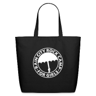 Bags & backpacks ~ Eco-Friendly Cotton Tote ~ Tote Bag: Black