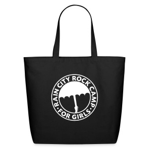 Tote Bag: Black - Eco-Friendly Cotton Tote