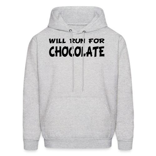 Will Run for Chocolate - Men's Hoodie