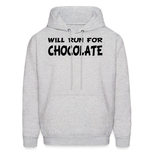 Will Run for Chocolate - Men's Hoodie