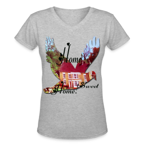 Home Sweet Home - Women's V-Neck T-Shirt