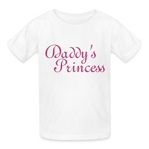 Daddy's Princess :: Cute Girls Graphic tee - Kids' T-Shirt