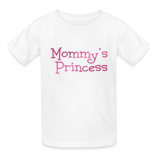 Mommy's Princess :: Cute Girls Graphic tee - Kids' T-Shirt