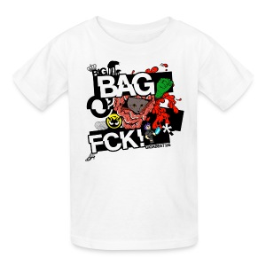 Kids Big Bag O' FCK! get your kid sent home early from school!  - Kids' T-Shirt